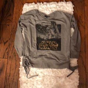 Star Wars Princess Leia sweatshirt with side ties